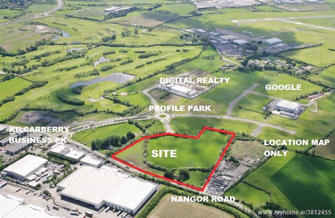 Development Site c. 12.32 acres, Nangor Road, Dublin 22