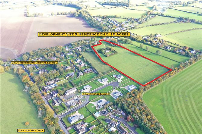 Main image for Residence on c. 10 Acres, Brannockstown, Kildare, W91 E4A7
