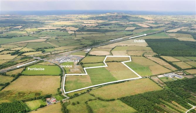 Main image for 33.3 Acres at Mayfield (Junction 14), Monasterevin, Kildare