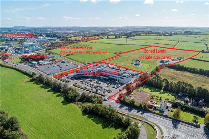 """Main image for C. 15 Acre Site Zoned """"Enterprise"""", Butlerstown North, Waterford City, Waterford"""