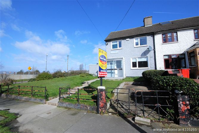Three bed house with site with FPP 64 Deanstown Avenue, Finglas, Dublin 11, Finglas, Dublin 11
