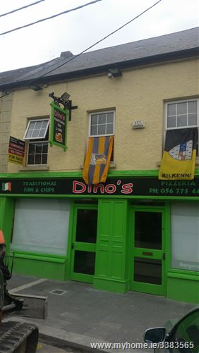 "Main image of ""Dino's"" Chip Shop, Market Street, Thomastown, Kilkenny"