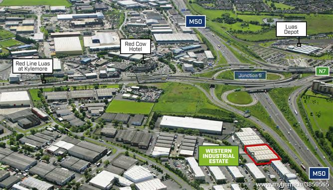 231 & 232 Western Industrial Estate, Holly Road, Dublin 12, Ballymount, Dublin 12, D12 P7OX
