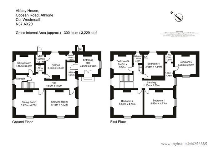 Abbey House, Coosan Road, Athlone, Co Westmeath, N37 AX20