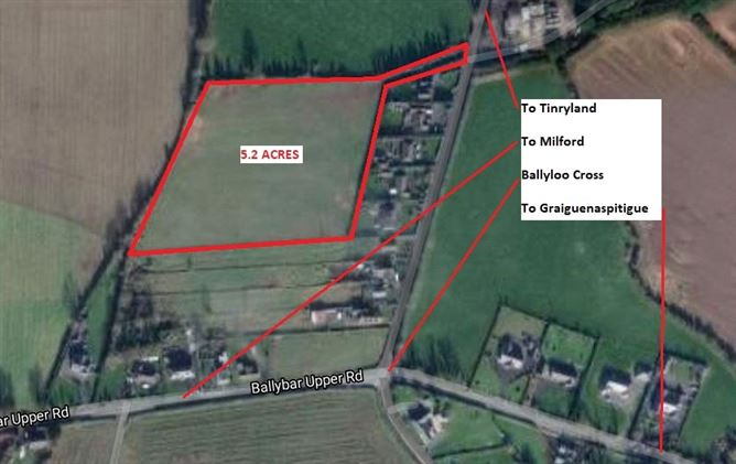 Main image for 5.2 Acres,Linkardstown,Carlow,Co Carlow