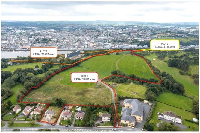 Main image for Zoned Opportunity Site C. 45.146 Ac,In One,Two Or Three Lots,Ferrybank,Co. Waterford