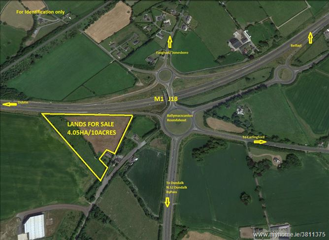 Main image of APPROX. 4.05 Ha At Red Cow, Newry Road,  Dundalk, Louth
