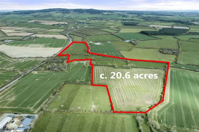 Main image for c. 20.68, 8.37 Acres at Waddingtown, Cleariestown, Co. Wexford
