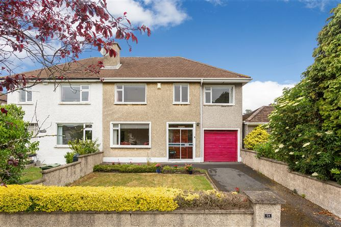 54 Cedarmount Road, Mount Merrion, County Dublin
