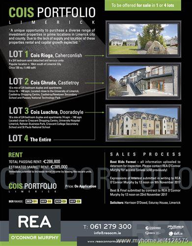 Photo of The Cois Portfolio, Dooradoyle, Castletroy, Caherconlish, Limerick City, Limerick