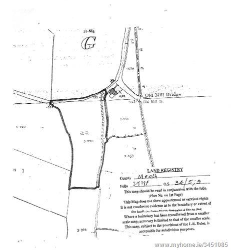 3.92 acre site for sale at Old MillBridge Tullog , Naul, County Dublin