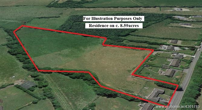 c. 8.59 acres with Residence, Blackhall, Calverstown, Kilcullen, Kildare