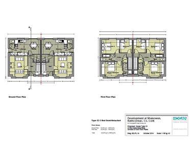 Type C1 (3 Bed Semi-Detached), Shanowen, Rathcormac, Co. Cork
