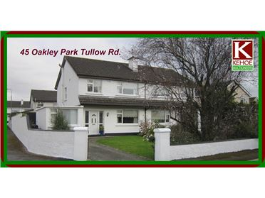 Photo of 45 Oakley Park Tullow Rd., Carlow Town, Carlow