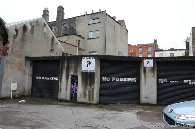 Photo of site at Hardwicke Lane, North City Centre, Dublin 1