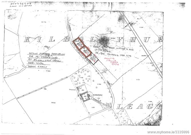 1 Acre site at Killballyhue, Tinryland, Carlow