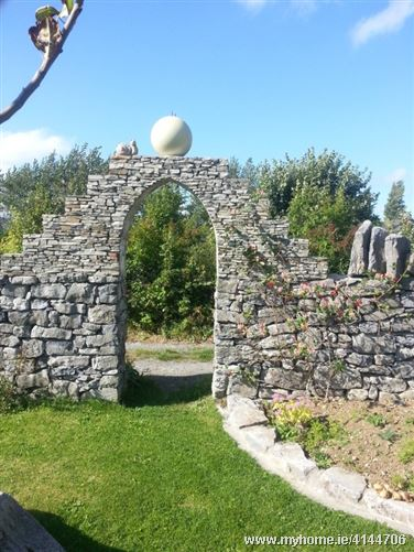 Villa Ronan with sculpture garden, Kinvara, Co. Galway