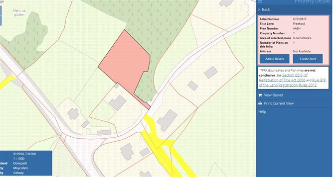 Main image for Dovepark, Moycullen, Galway