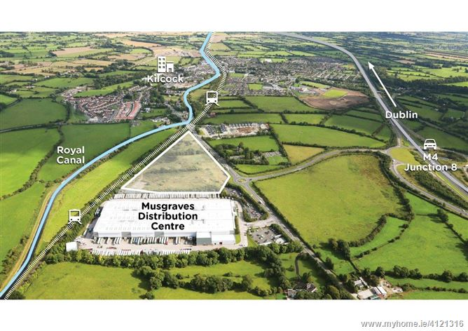 Photo of Boycetown, Kilcock, Co. Kildare - approx. 5.56 ha (13.7 acres) – Zoned for Warehousing & Industrial Development