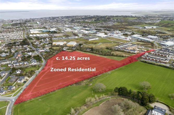 Main image for c. 14.25 Acres / 5.77 Ha at Clonard Road, Wexford Town, Wexford