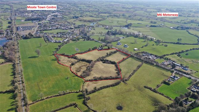 Main image for Development Land at Tullaghnageeragh, Moate, Westmeath