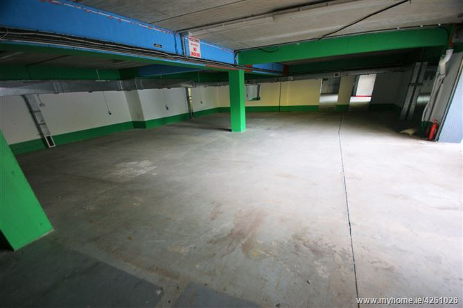 Car Park Basement Floor Building At Hanover Court Kennedy Avenue Carlow Town