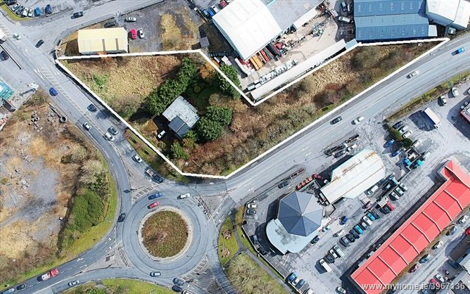 Prime Site for sale N5 Roundabout, Castlebar Town, Castlebar, Mayo