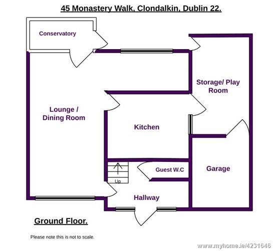45 Monastery Walk, Clondalkin, Dublin 22