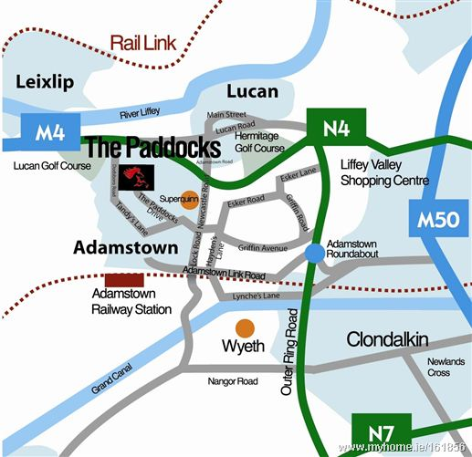 The Paddocks The Paddocks Adamstown Lucan Dublin County