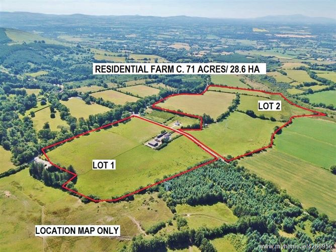 Residential Farm c. 71 Acres/ 28.6 HA., In One or Two Lots, Downings