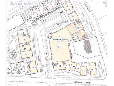 Slade Castle Shopping Centre, Saggart, Co. Dublin