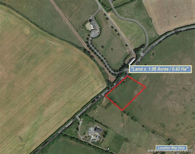 Land c. 0.43 Hectares/1.06 Acres, Folio KE13304F, Boston, Straffan, Kildare