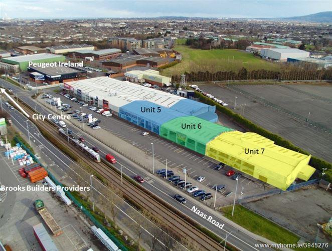 Units 5, 6 & 7, Urban Showrooms, Naas Road, Naas Road, Dublin 12