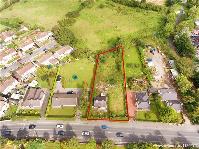 Photo of Site  With FPP, Lower Road, Rathnew, Co Wicklow