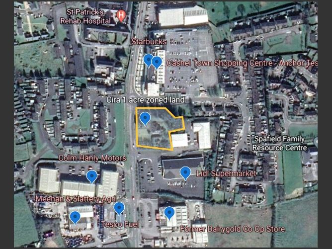 Main image for Circa 1 Acre Zoned Land,Cahir Road,Cashel,Co. Tipperary,E25 K243