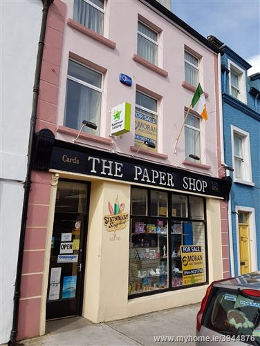 The Paper Shop,  Former News Agency Main Street , Kiltimagh, Mayo