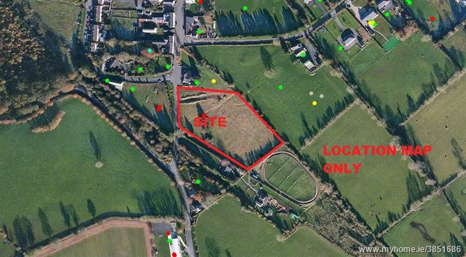 Development Site c. 3 Acres/ 1.24 Ha., Grange Con, Wicklow