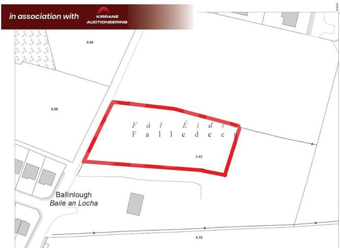 Land comprised within part Folio RN22205F, Falladeen, Ballinlough, Co. Roscommon