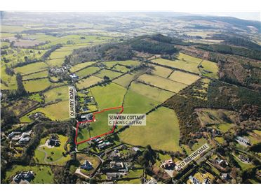 "Main image of ""Seaview Cottage"" on c.3.2 Acres, Quarry Road, Rathmichael, Dublin"