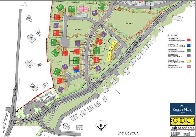 Main image for Phase 2 - Crieve Mor Avenue, Letterkenny, Donegal