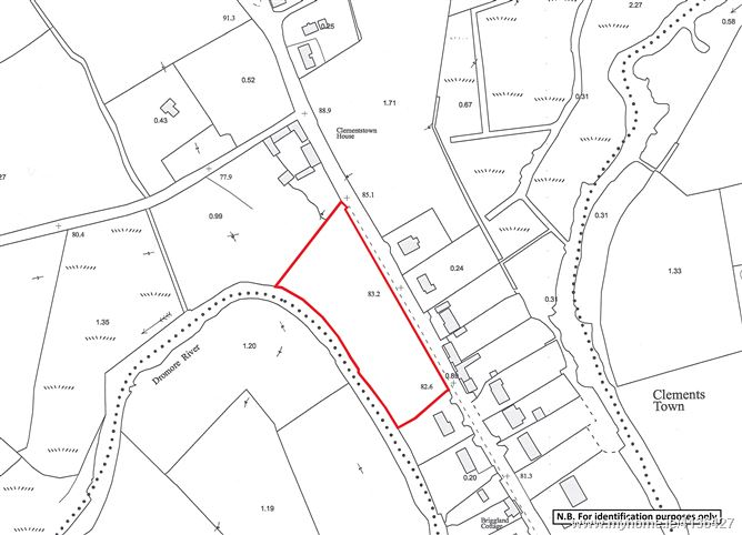 Photo of Land contained within Folio CN14595, Belturbet Road, Cootehill, Co. Cavan