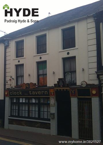 Clock Tavern Bar, South Main Street, Youghal, Cork