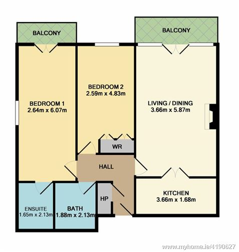 94 Bushy Park House, Terenure, Dublin 6W, D6W TX01