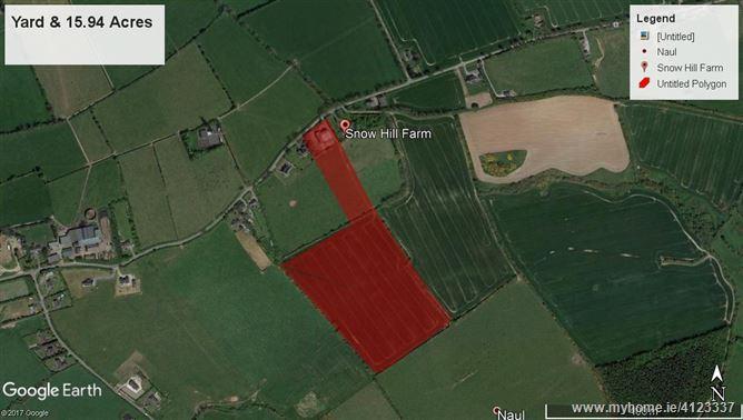 Lot 4 (Yard & 15.94 Acres) Snowhill Farm, Naul, Meath