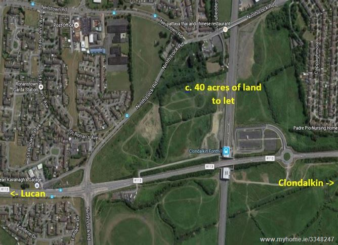 Land at Fonthill Railway Station,New Fonthill Road, Lucan, County Dublin