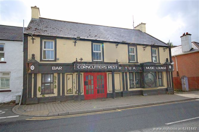Corncutters Bar & Restaurant, Creeslough, Donegal