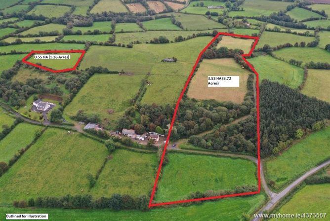 Main image for Agri. Lands 4.08 HA (10.08 Acres), Killybough, Tydavnet, Co. Monaghan