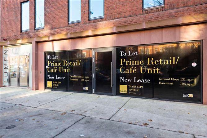 Main image for Prime Retail / Café Unit, Baggot Street, Dublin, D04
