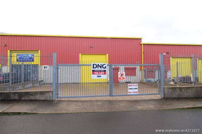 Unit No. 81 Westside Business Park, Waterford City, Waterford