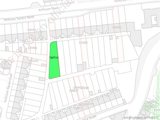 Main image for Site at rear of 14 Inchicore Terrace North, Inchicore, Dublin 8